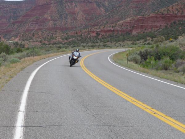 Craig on Delores Canyon