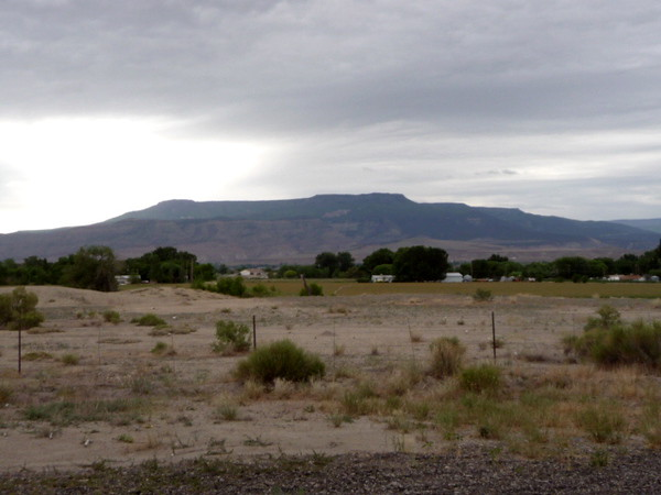 The Grand Mesa as seen leaving Grand Junction