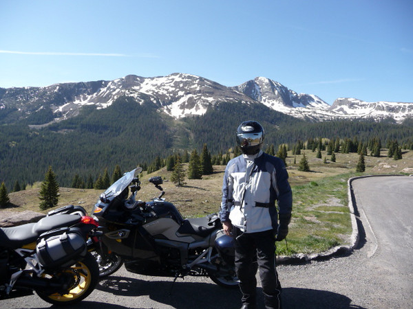 Craig at Molas Pass on Million Dollar Highway