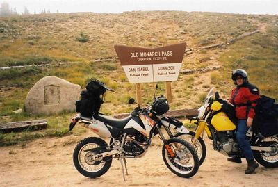 Old Monarch Pass.