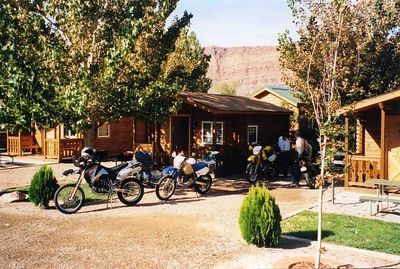 Cabins in Moab.