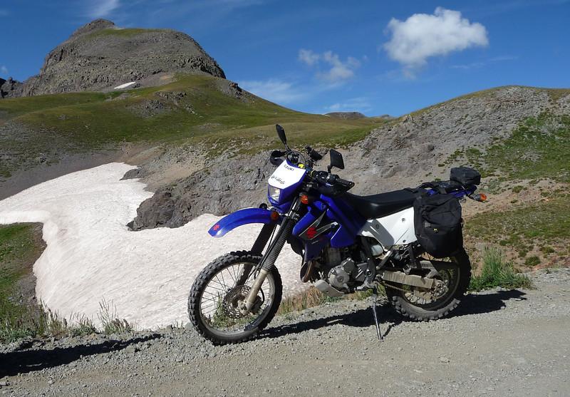 Stony Pass, lots of snow around...13,600'