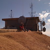 The weather station atop Pikes Peak