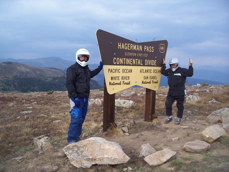 Hagerman Pass is a fun ride out of Leadville,,just be sure to have a full tank of gas if you continue all the way the Basalt, and some extra daylight,,,