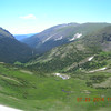 The northern view from The Alpine Visitor Center near the summit.
