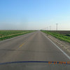 Heading north out of Liberal, KS to pick up US50 west to CO9.  Great weather, little warm but not much wind all day.
