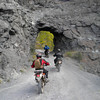 Heading up to Imogene Pass above Telluride