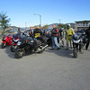 staging for Saturday's ride