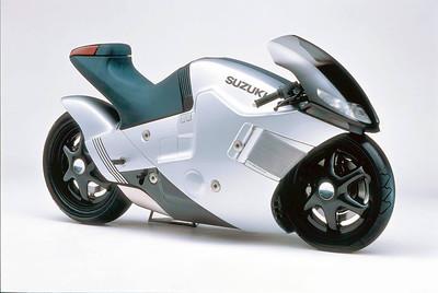 1986 Suzuki Nuda. Yes, a 30 year old concept bike