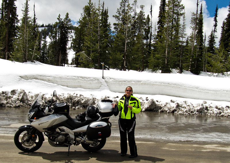 May 10, 2011........More snow last night here at Lost Trail Pass, Montana