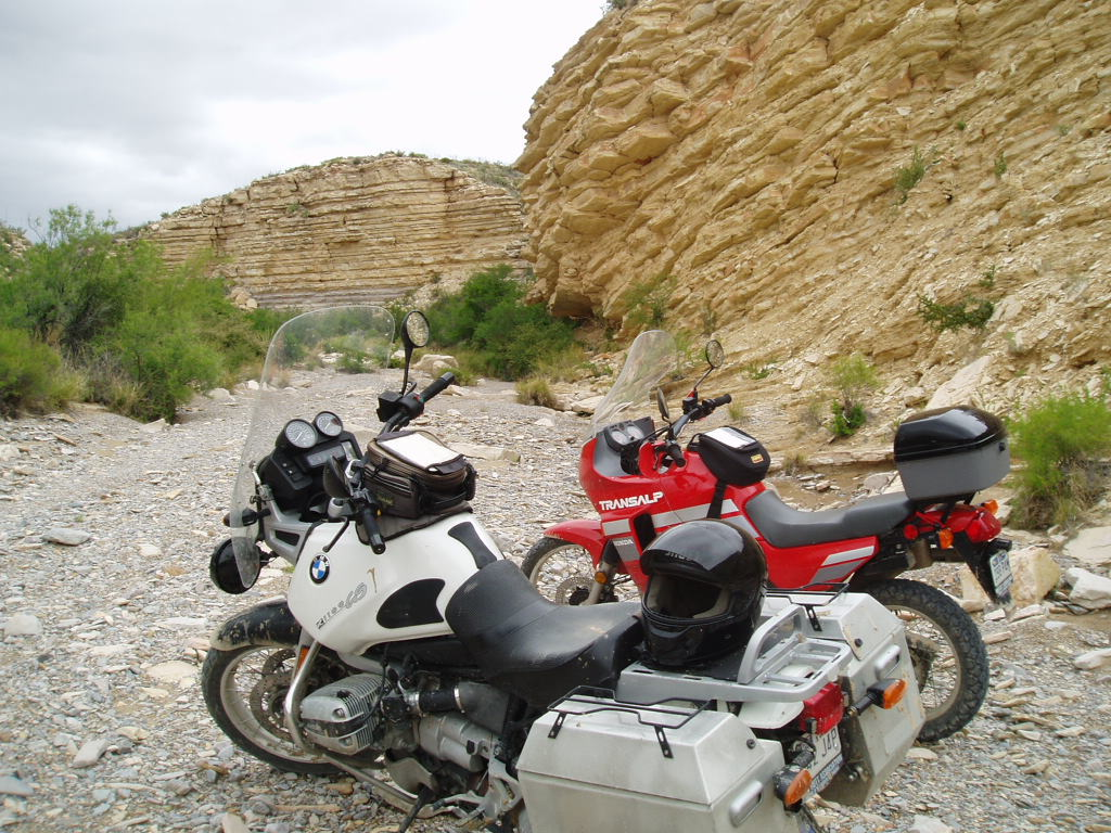 Old Ore Road in Big Bend.