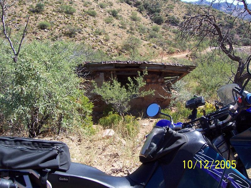 A Bluebird mine ruin.