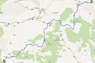 Day 2 28MAY - Rattlesnake Canyon to Bend