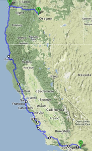 Day 3,4,5 - MAY 29, 30, 31 PCH to Crestline