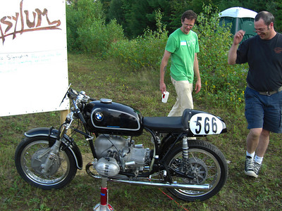 R50 BMW race bike.   Cool factor: 9.8!