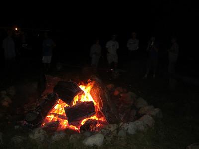 Thursday night at the campfire.