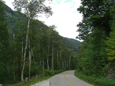 Along the Evans Notch Rd - hwy 113, south of Gilead.