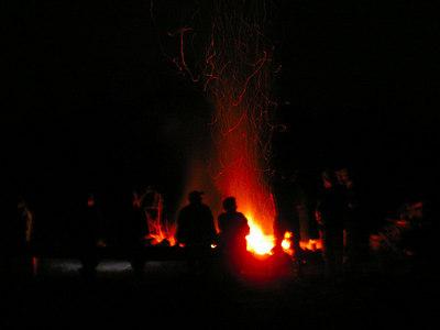 CroMag06, sep 8, 2006, Brownfield, ME  campfire