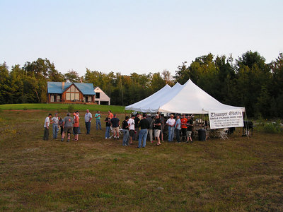 CroMag06, sep 8, 2006, Friday,  early afternoon, Brownfield, ME