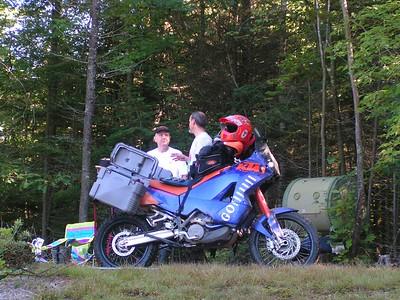 303 Daniel & his KTM, Quebec