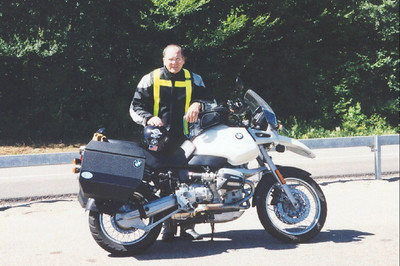 Bigbird - Tom, and his Trusty Mount - see I really do have a GS!