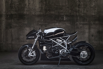 """LE CAFFAGE"": DUCATI 848 BY APOGEE MOTORWORKS"