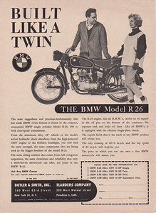 BMW ad Cycle 1960