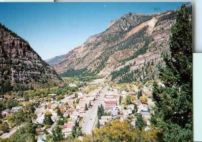 Silverton, Co Hwy 550 north of Durango, Co