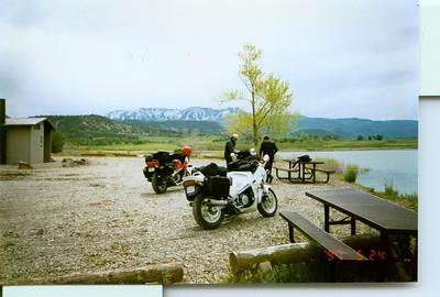 Fish Lake top of Black Hills Gunnison, Co