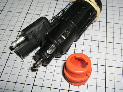 The Universal Power Plug will fit an automotive cigarette lighter socket, and it fits a European DIN socket (commonly called a BMW socket).  Remove the red ring for BMW sockets.  The other end of the assembly is a 2-prong SAE connector that fits the other power cords of the CyclePump.