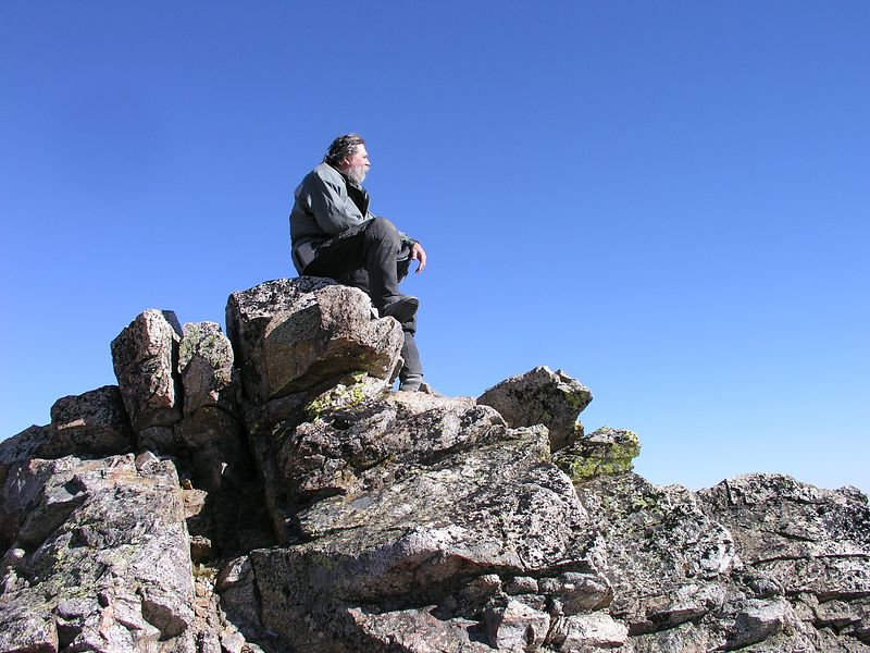 Mr. Cob, sits atop Cougar Mountain, remembering a past life when he rode this range as a Mountain Man and Trapper.