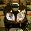 Rt headlight Smoke Mask Installed 01.
