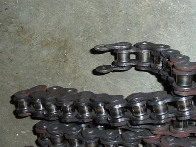 well worn chain.