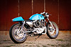 DP Customs 85 Grabber Blue Cafe : Bike Builder: DP Customs 