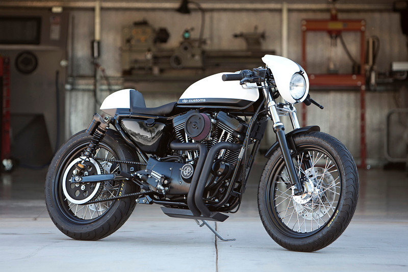 just finished this 1200 cafe racer - the sportster and buell