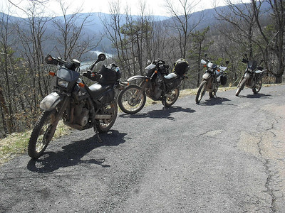 DR650 Riding