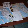Devious plotting begins; last year's bonus location map on the left.