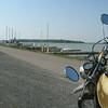 Bruce Mines marina, Lake Huron. At the ADV NOFAR Rally, near Echo Bay.