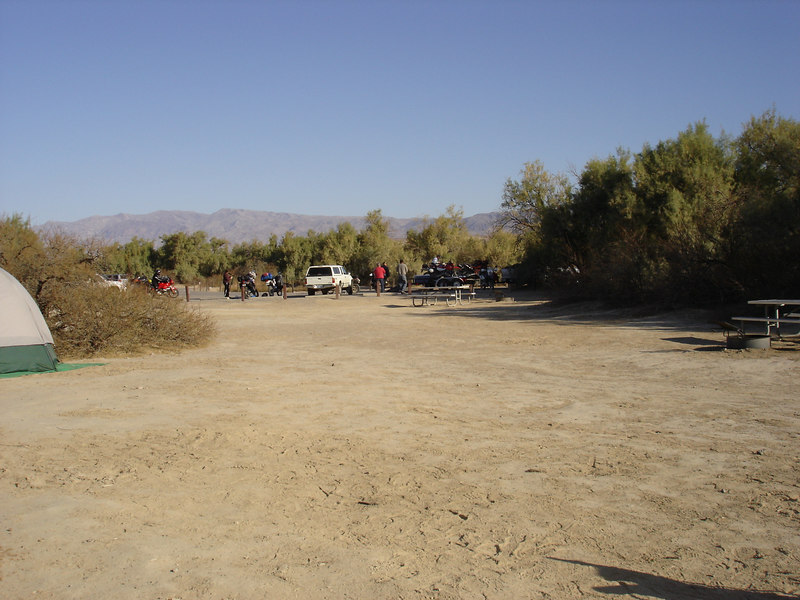 Most of the attendees where gone early Sunday morning. Furnace Creek went from packed to empty overnight.