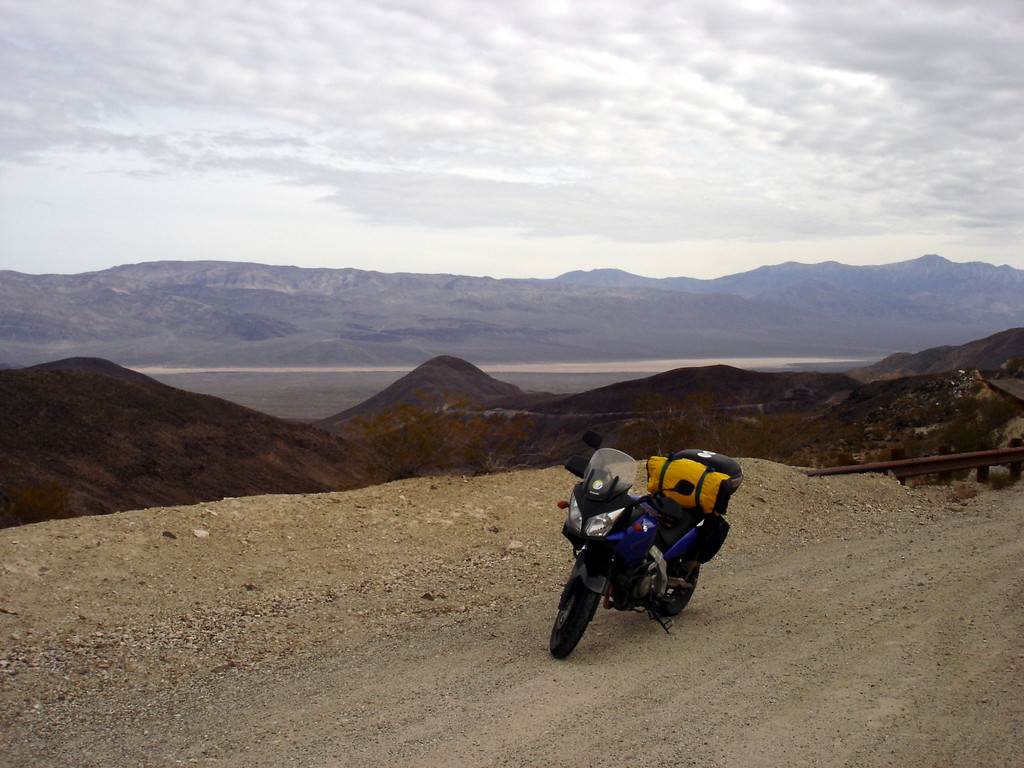 </br> CA Hwy 190 near Father Crowley Pt, west of Panamint Springs, CA. </br>
