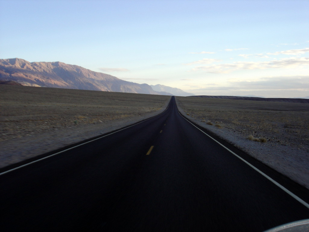 </br> The road to Badwater, DVNP. </br>