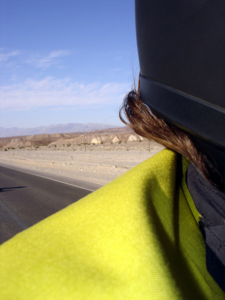 </br> Self portrait. On the way to Dante's View, Death Valley National Park (DVNP). </br>