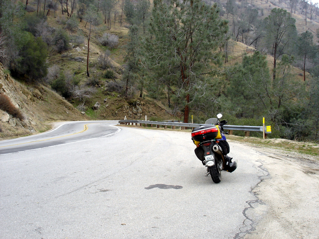 </br> CA Hwy 178, Kern Canyon, east of Bakersfield, CA. </br>