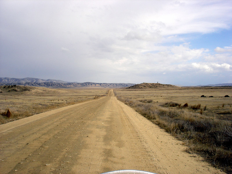 </br> Soda Lake Road, Carrizo Plain National Monument, CA. </br>
