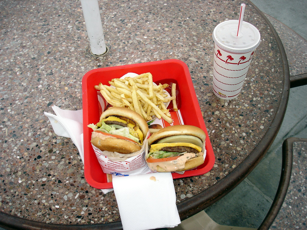 </br> In-n-Out Burger, Bakersfield, CA. </br>