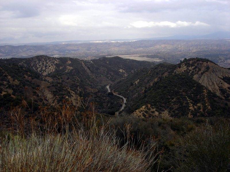 </br> CA Hwy 33, Los Padres National Forest, CA. </br>