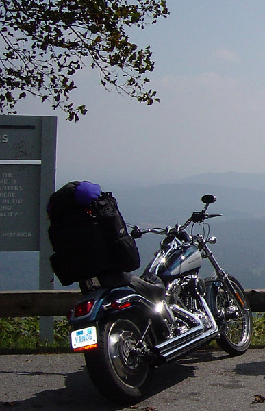 My first ride on the Blue Ridge was a religious experience.