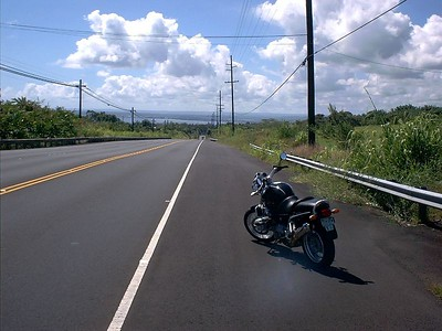 The descent into Hilo on Hwy 19.