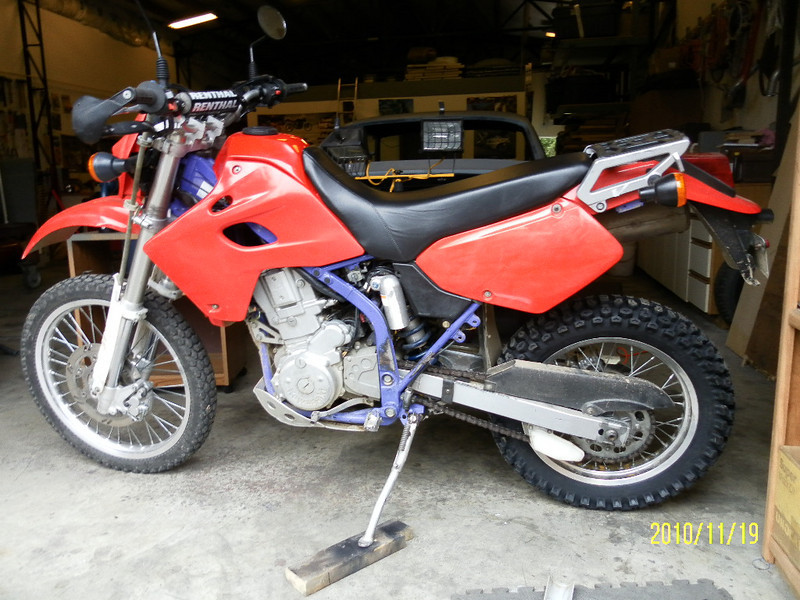 1996 Kaw KLX650C dualsport