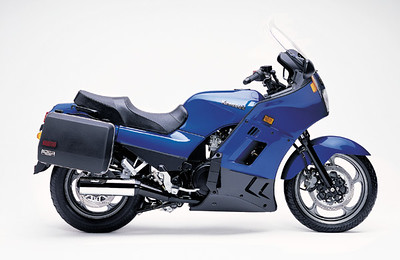 2001 Kaw ZG 1000 Concours,  Moved from the '98 after 125k mi